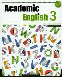 Academic English. 3(CD1장포함)