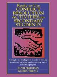[해외]Ready-To-Use Conflict Resolution Activities for Secondary Students (Paperback)