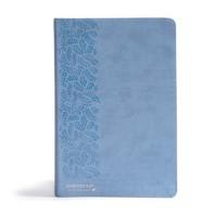 [해외]CSB (In)Courage Devotional Bible, Blue Leathertouch (Imitation Leather)