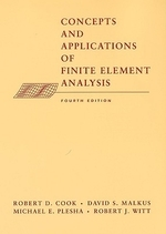 Concepts and Applications of Finite Element Analysis, 4/E(Hardcover)