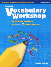 Vocabulary Workshop Level Blue