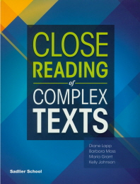 Close Reading of Complex Texts SB G-5