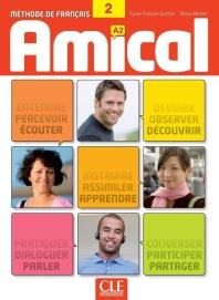 Amical 2 A2, Livre De L'Eleve + Cd Mp3