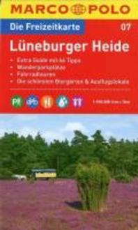 MARCO POLO Freizeitkarte 07 Lueneburger Heide 1 : 100 000