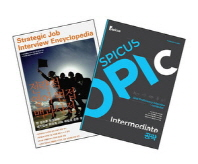 취업대비세트(전략적 영어 면접 백과사전 SPICUS OPIc Intermediate 공략)(전2권)    스피쿠스 오픽은 비포함