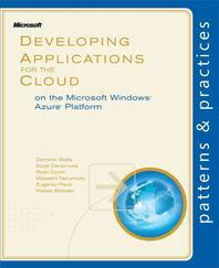 [해외]Developing Applications for the Cloud on the Microsoft Windows Azure Platform (Paperback)