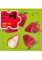 달콤한 과일(4조각)(만2.3세퍼즐)