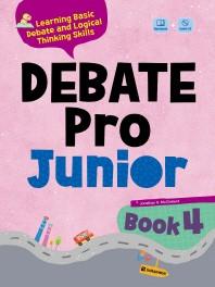 Debate Pro Junior Book. 4(CD1장포함)