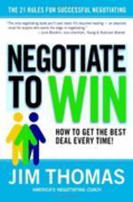 [해외]Negotiate to Win