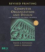 Computer Organization and Design, 3/e : The Hardware/Software Interface
