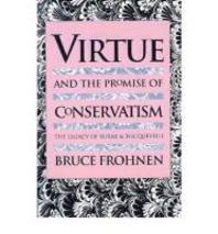 [해외]Virtue and the Promise of Conservatism (Paperback)