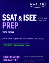 [해외]SSAT & ISEE Middle & Upper Level Prep