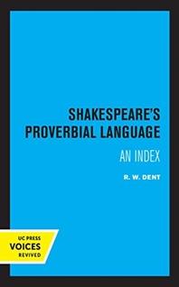 [해외]Shakespeare's Proverbial Language