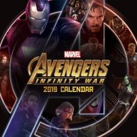 마블 어벤져스 인피니티 워 히어로즈 벽걸이 달력(2019)