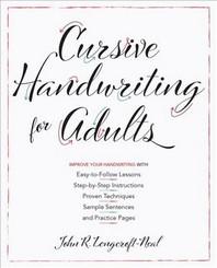 [해외]Cursive Handwriting for Adults