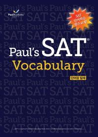 Paul's SAT Vocabulary