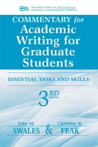 [해외]Commentary for Academic Writing for Graduate Students