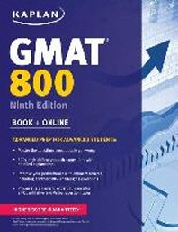 Kaplan GMAT 800 with Access Code