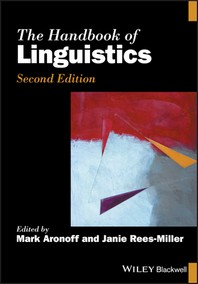 [해외]The Handbook of Linguistics
