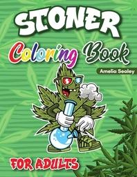 [해외]Stoner Coloring Book for Adults