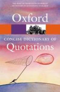 [해외]Concise Oxford Dictionary of Quotations