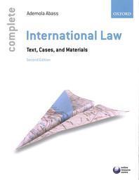[해외]Complete International Law