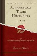 [해외]Agricultural Trade Highlights (Paperback)