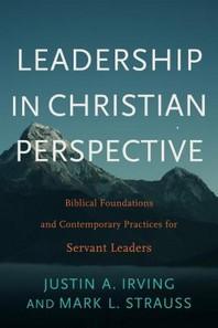 [해외]Leadership in Christian Perspective (Hardcover)