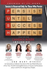[해외]P. U. S. H. Persist until Success Happens Featuring Candice Bolek (Paperback)