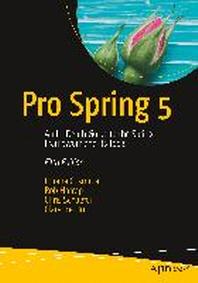 [해외]Pro Spring 5 (Paperback)