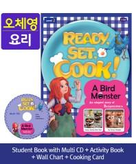 Ready, Set, Cook! Level. 2: A Bird Monster(SB+Muiti CD+AB+Wall Chart+Cooking Card)