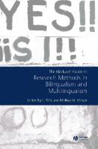 The Blackwell Guide to Research Methods in Bilingualism and Multilingualism