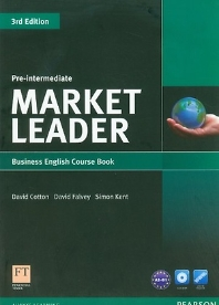 Market Leader: Pre-Intermediate Business English CourseBook & DVD-Rom Pack