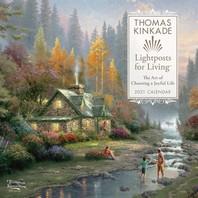 [해외]Thomas Kinkade Lightposts for Living 2021 Wall Calendar