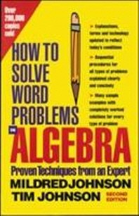 [해외]How to Solve Word Problems in Algebra, 2nd Edition