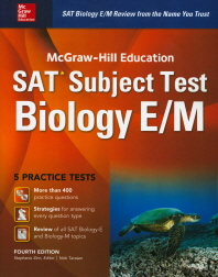 McGraw-Hill Education SAT Subject Test Biology E/M