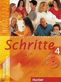 Schritte 4. Deutsch als Fremdsprache(BOOK+CD)