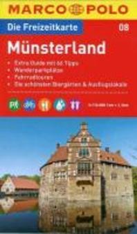 MARCO POLO Freizeitkarte 08 Muensterland 1 : 100 00