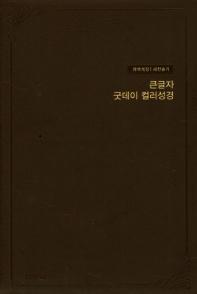개역개정 큰글자 굿데이 컬러 성경 새찬송가(대합본/색인/지퍼/우피/버건디)(가죽)