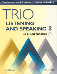 Trio Listening and Speaking. 3 SB with Online Practice