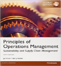 Principles of Operations Management #