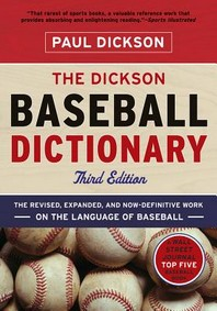[해외]The Dickson Baseball Dictionary