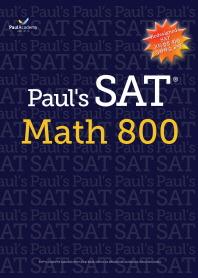 Paul's SAT Math 800