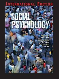 Social Psychology 12/E