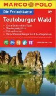 MARCO POLO Freizeitkarte 09 Teutoburger Wald 1 : 100 000