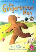 THE GINGERBREAD MAN(CD1장포함)(USBORNE FIRST READING 3-4)
