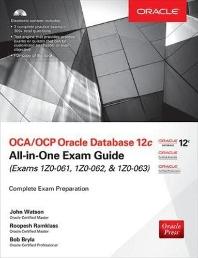 [해외]OCA/OCP Oracle Database 12c All-In-One Exam Guide (Exams 1Z0-061, 1Z0-062, & 1Z0-063)