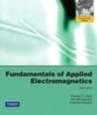 FUNDAMENTALS OF APPLIED ELECTROMAGNETICS(SIXTH EDITION)