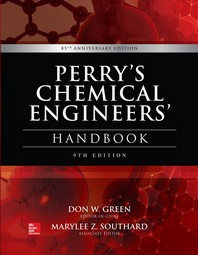 [해외]Perry's Chemical Engineers' Handbook, 9th Edition