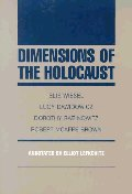 [해외]Dimensions of the Holocaust (Paperback)